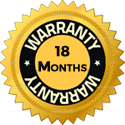 Extended 18 Month Warranty