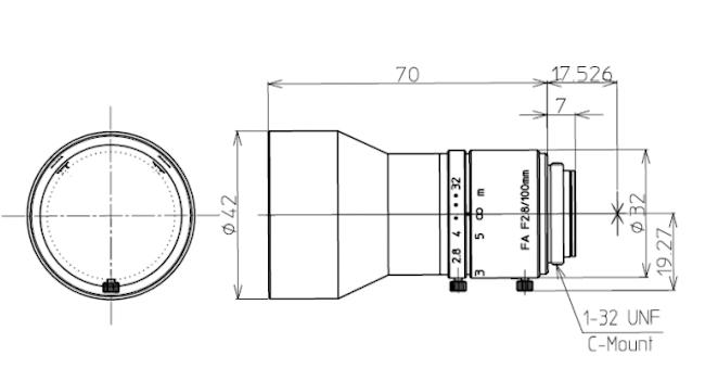 Kowa LM100JC Drawing