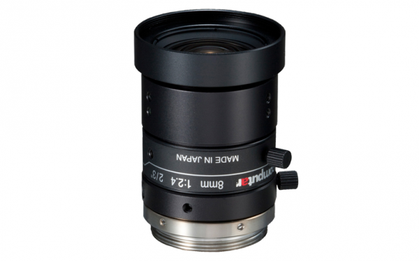 M0824-MPW2 8mm Machine Vision Lens