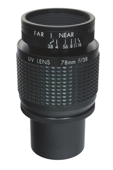 UV8040K 78mm Quartz C-Mount Lens