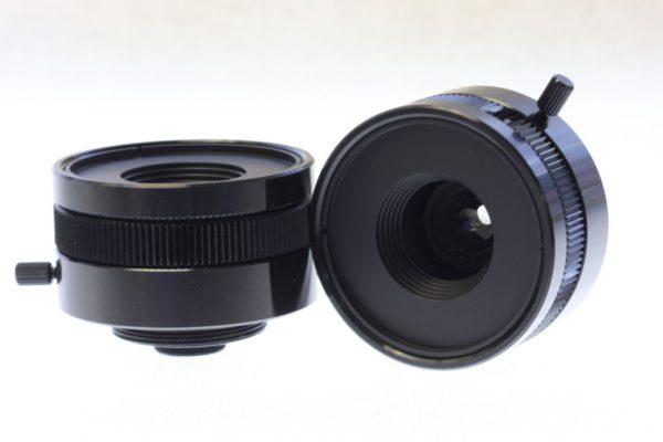 9mm UV Quartz C-Mount Lens