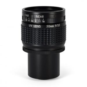 50mm UV Quartz C-Mount T-Mount Lens