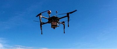 Corning and PrecisionHawk partnership enables hyperspectral imaging on drones